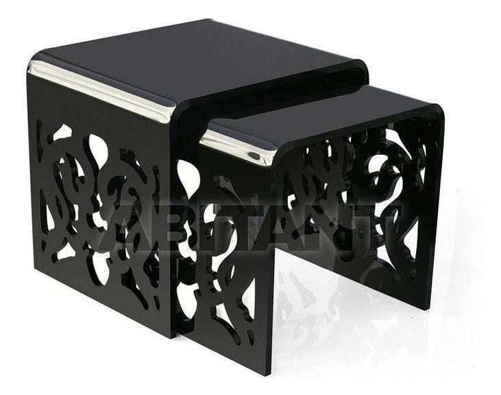 Купить Столик журнальный Acrila Grand Soir «grand soir» Nesting tables black