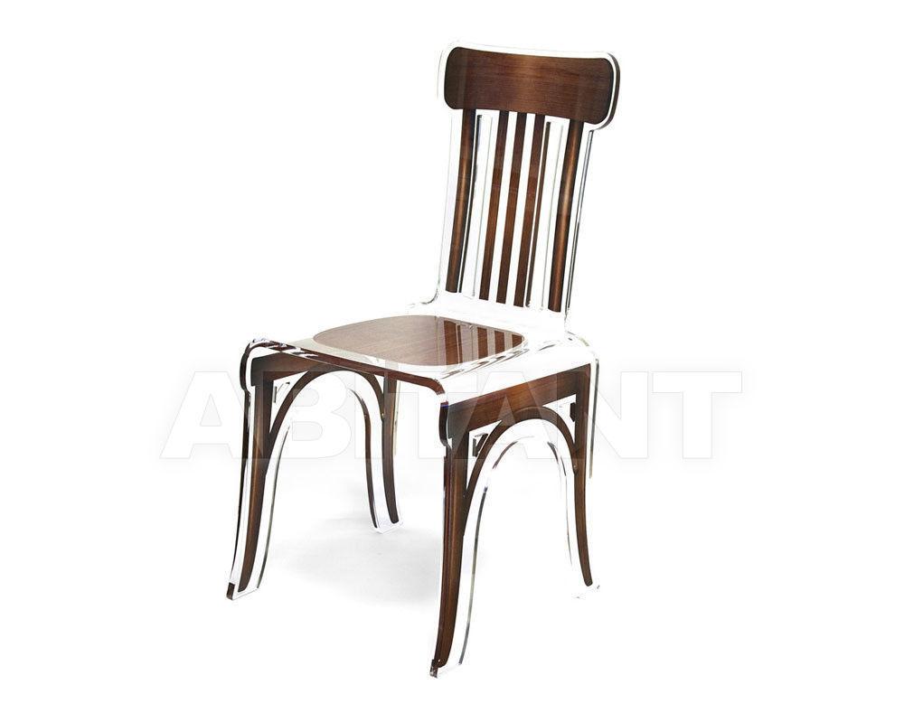 Купить Стул Acrila Bistrot Bistrot chair full acrylic Brown