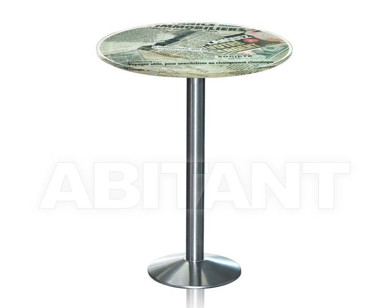 Купить Столик приставной Acrila Bistrot Bar table Old Newspapers