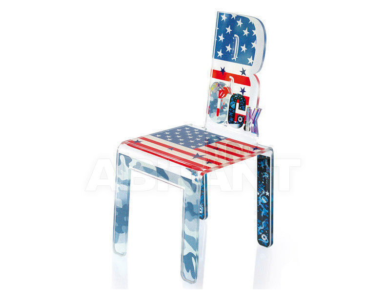 Купить Стул Acrila Diloé Teenager Diloé chair Flag rock