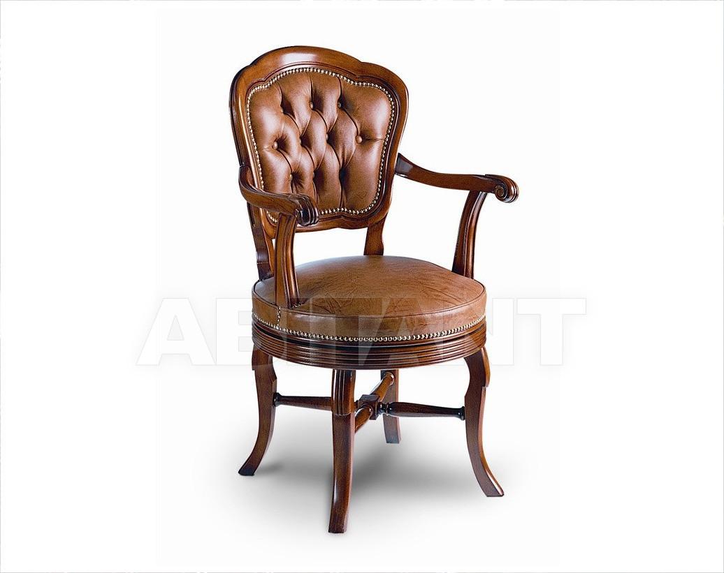 Купить Стул с подлокотниками Francesco Molon Upholstery P75. 01