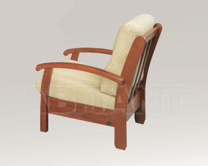 Купить Кресло Trading Sofas s.r.l. by G.M. Italia Divani Rustici Neapolis  803