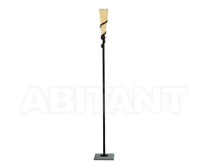 Купить Лампа напольная Lucienne Monique Design 7314/1 ruggine