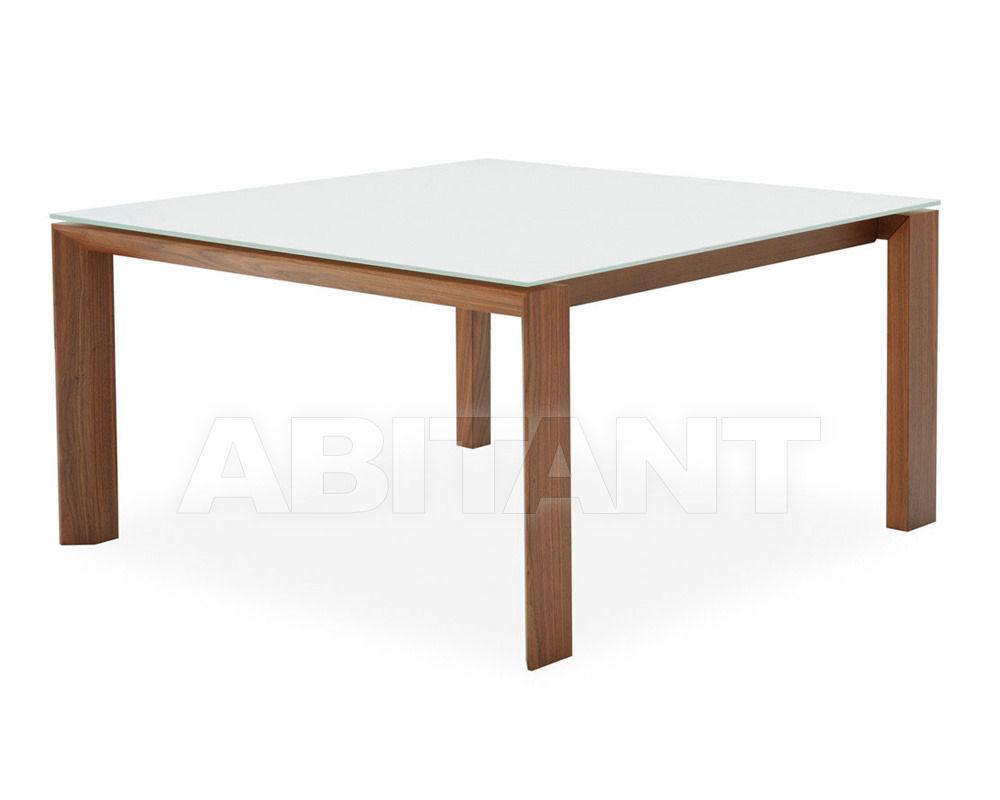 Купить Стол обеденный OMNIA GLASS Calligaris  Dining CS/4058-FQLV 140