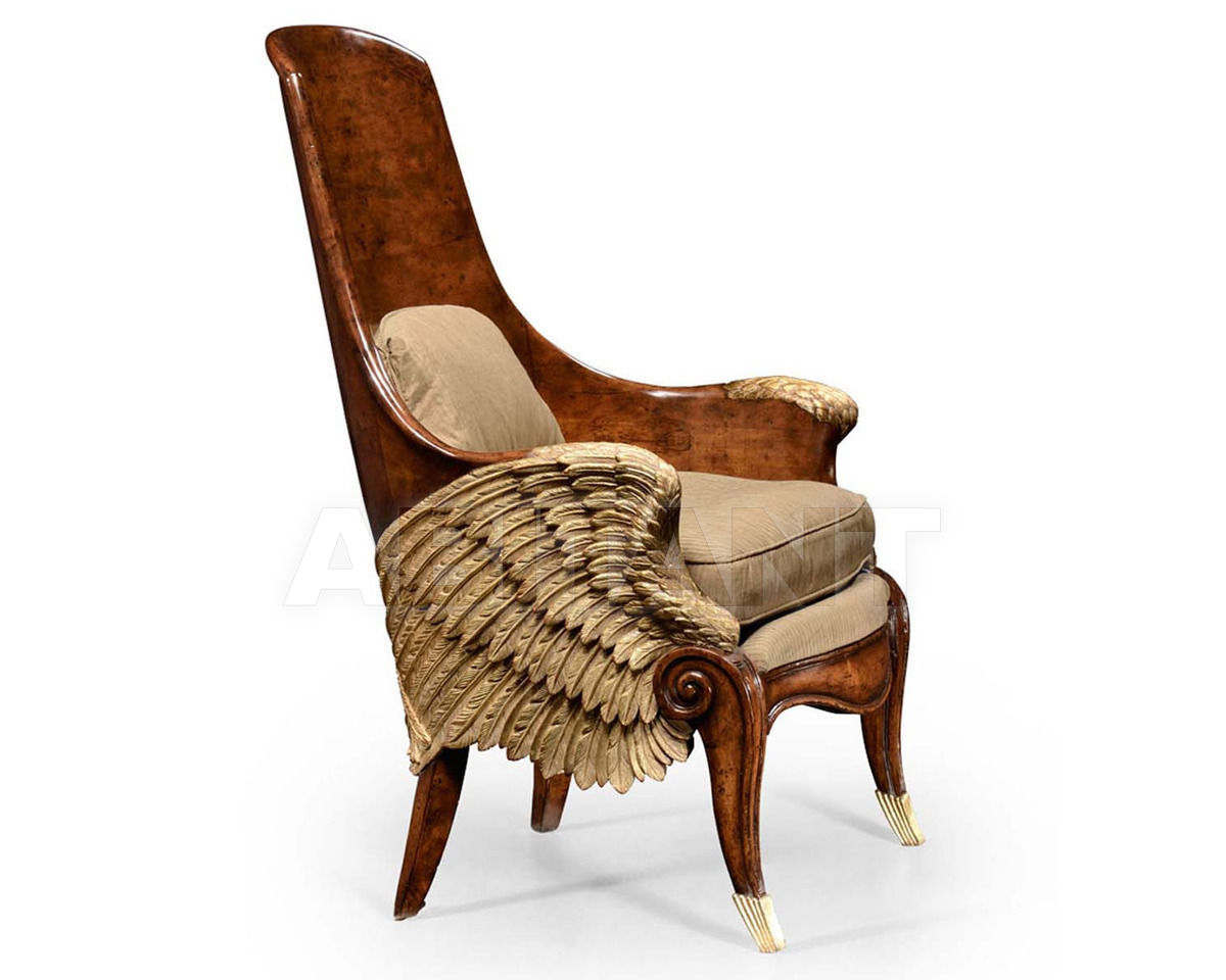 Кресло Empire Jonathan Charles Fine Furniture Icarus 494537 WAL F001 Ампир  / Барокко /