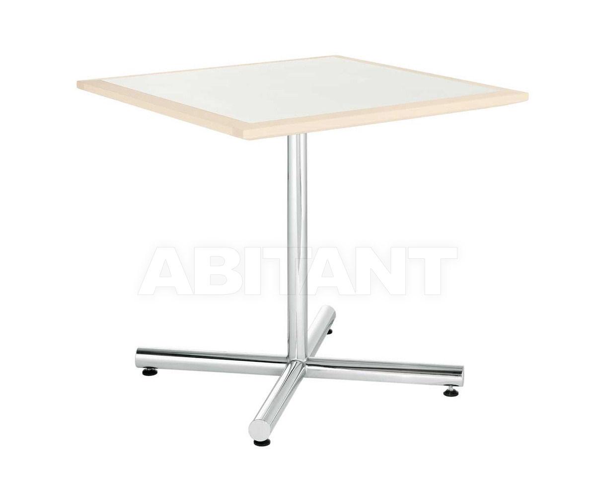 Купить Столик приставной Hiller Möbel 2013 stahlrohrtische quadratisch 109