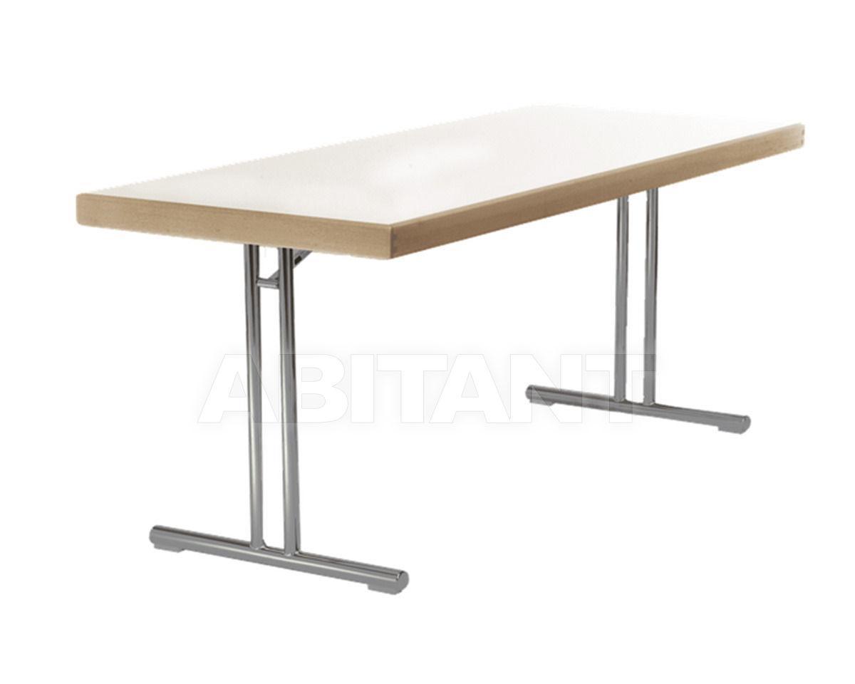 Купить Стол обеденный Hiller Möbel 2013 stahlrohr-klapptisch 0104