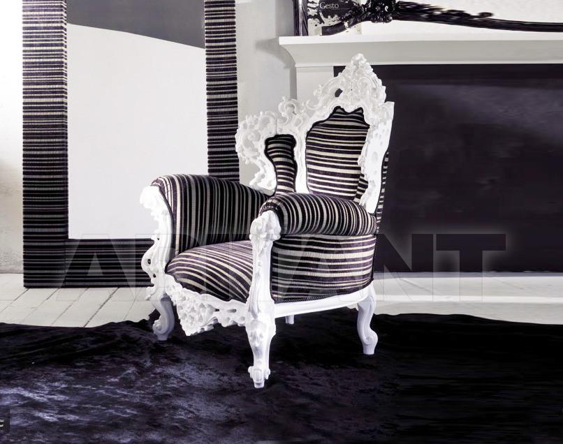 Купить Кресло WHITE RUSSIAN Ameli Home Classic HP 3510