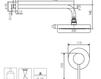 Схема Душевая система Giulini Futuro 6515WB Современный / Скандинавский / Модерн