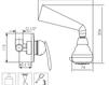 Схема Душевая система Giulini Infinito 8515WB Современный / Скандинавский / Модерн