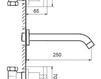 Схема Смеситель для раковины Giulini G3 7620 Современный / Скандинавский / Модерн