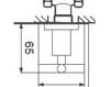 Схема Смеситель настенный Giulini G3 7615 Современный / Скандинавский / Модерн