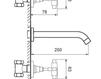 Схема Смеситель для раковины Giulini G5 7920 Современный / Скандинавский / Модерн