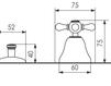 Схема Смеситель для биде Giulini Lotus A513 Современный / Скандинавский / Модерн