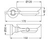 Схема Мыльница Giulini Ibisco Crystal RG1103/S Современный / Скандинавский / Модерн