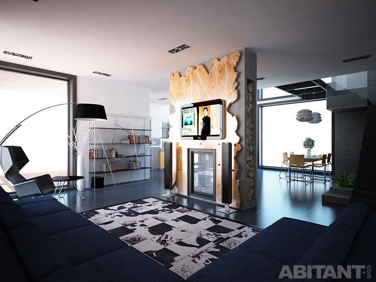 Креативный интерьер частного дома