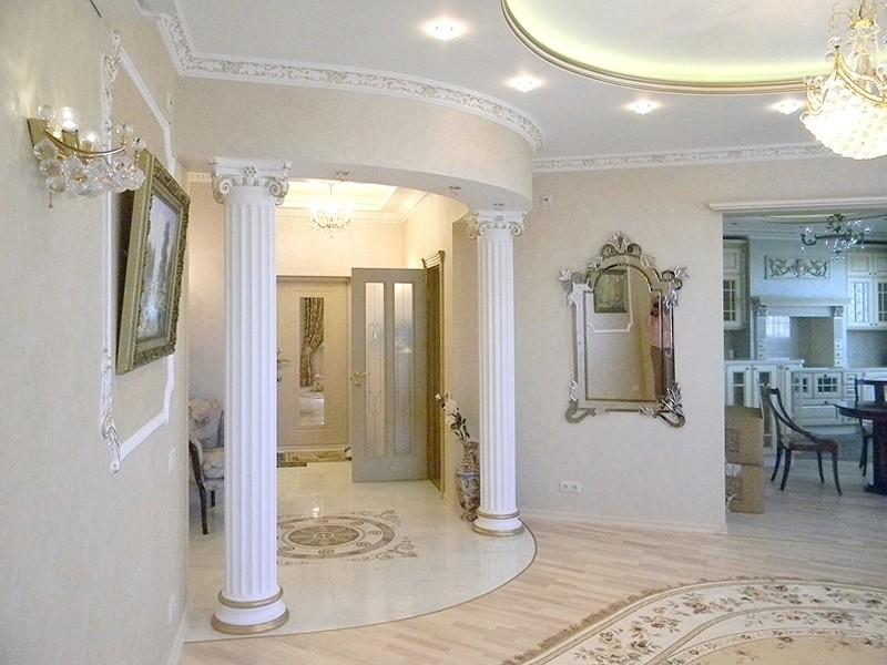 Дизайн 2 комнатной квартиры в классическом стиле