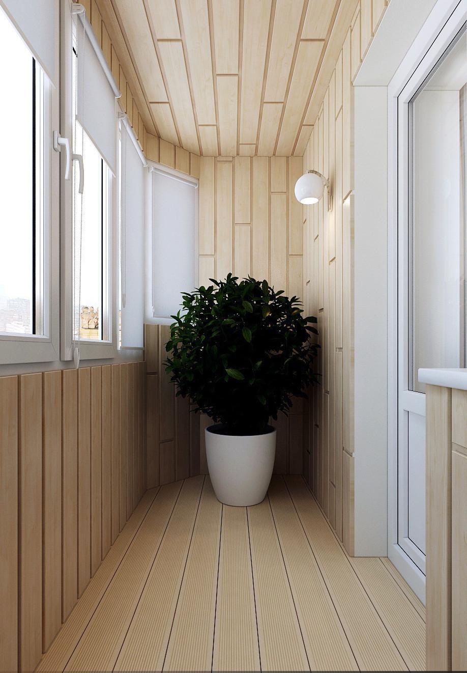 """Небольшой коричневый балкон в квартире."""" - карточка пользова."""