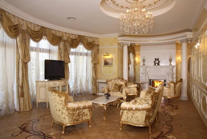 Дизайн квартир в дворцовом стиле