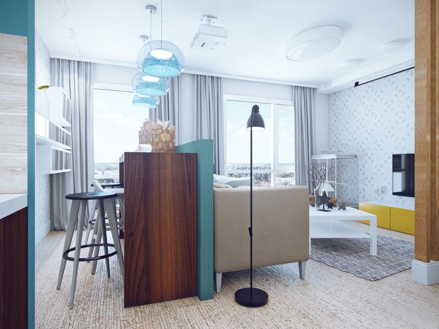 Дизайн квартир в жк акварели