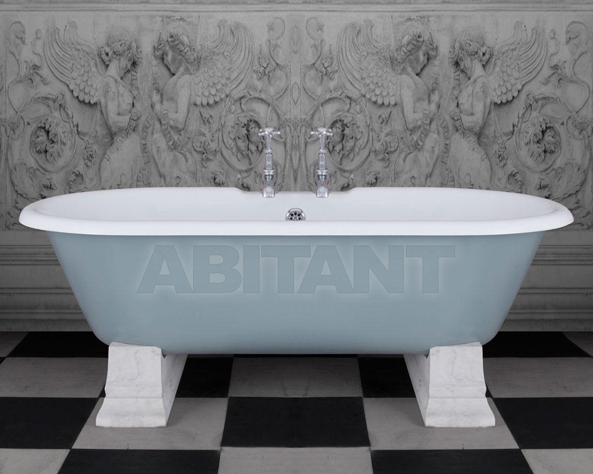 Купить Ванна Camargue Hurlingham Bath Company  2015 Camargue in Lulworth Blue with White Marble Plinths