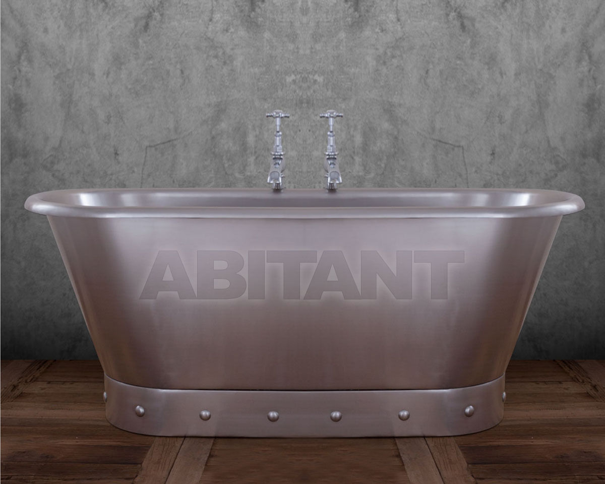 Купить Ванна Torino Hurlingham Bath Company  2015 SS005 Brushed Stainless Steel