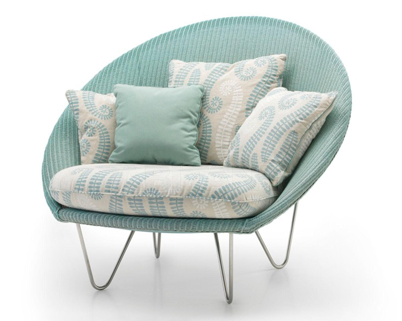Купить Кресло для террасы JOE LOUNGE Vincent Sheppard Vincent Shepard shiny frame