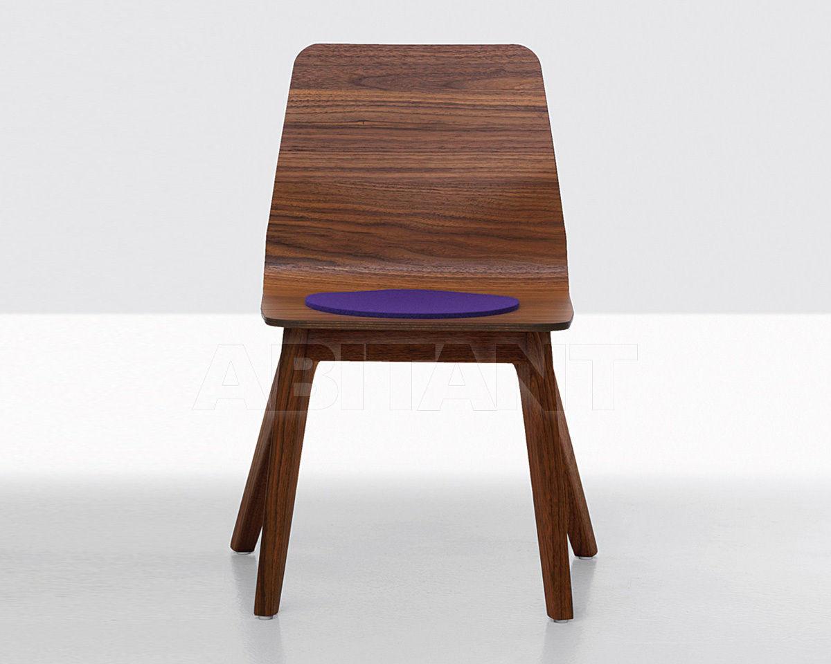 Купить Стул Zeitraum Moebel Stühle & Bänke MORPH KID + Seat cushion felt 1