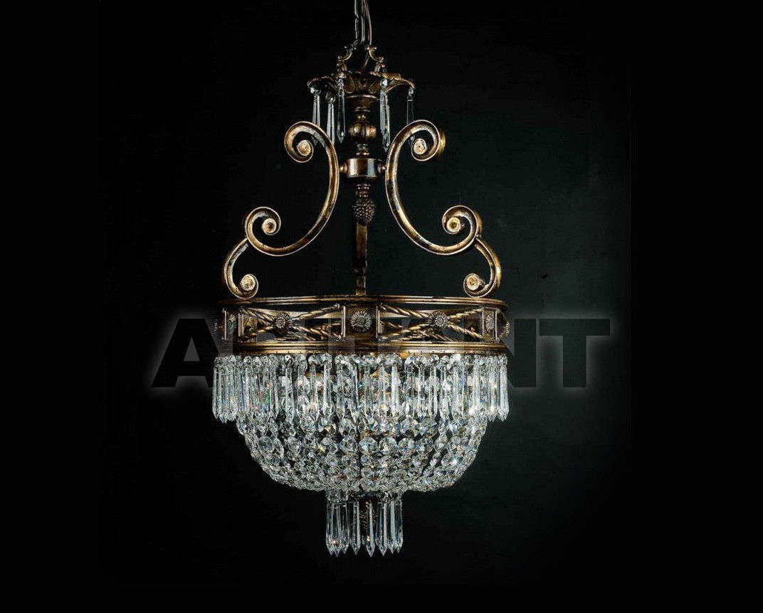 Купить Люстра Badari Lighting Candeliers With Crystals B4-707/3