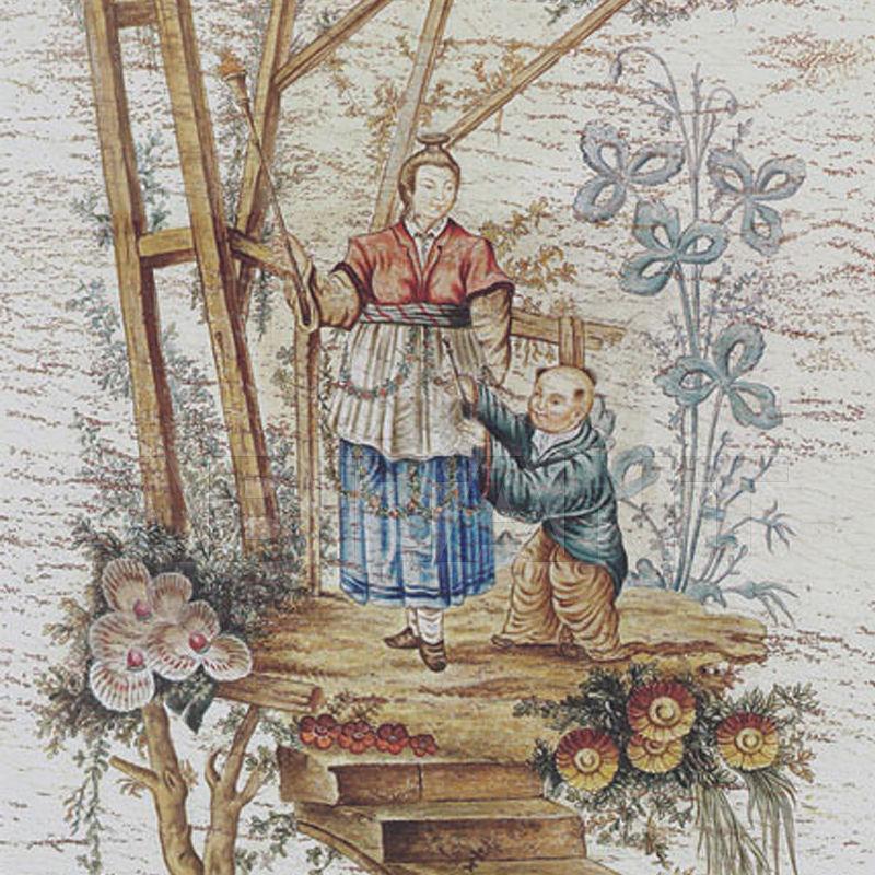 Купить Бумажные обои Iksel  Decorative Panels Pillement Chinoiserie 2