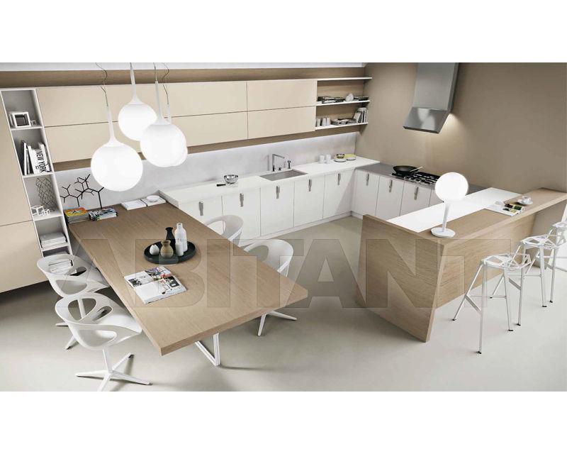 Купить Кухонный гарнитур Ak_03tre Arrital Cucine spa Modern Kitchen Ak_03tre