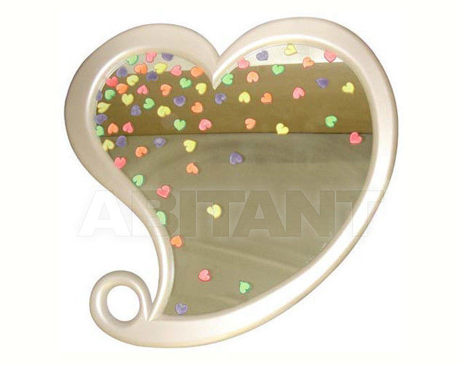 Купить Зеркало настенное Sergio Villa Mobilitaly 2003-2011 LUMINESCENT HEART