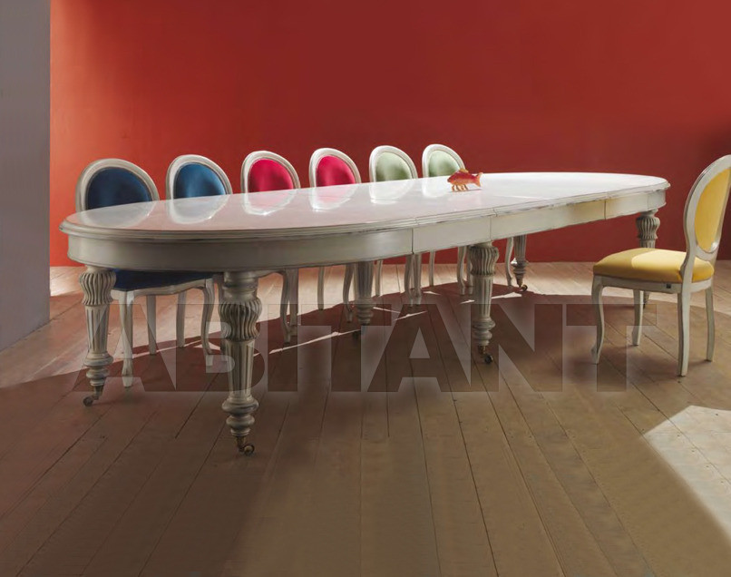 Купить Стол обеденный Serafino Marelli Foglie & Colori R 17