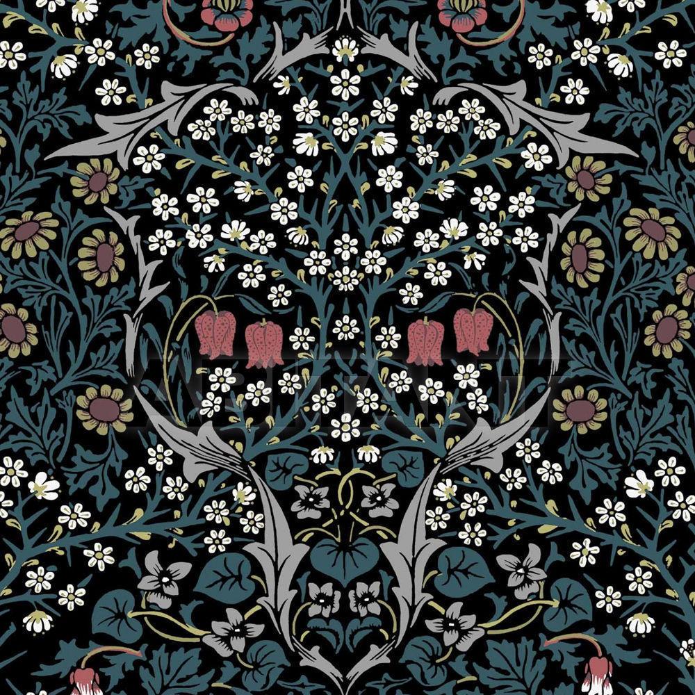 Купить Флизелиновые обои BLACKTHORN  Henry Bertrand Ltd Wallpaper 1-WA-BLA-DI-TEA-XXX-004-FLOW