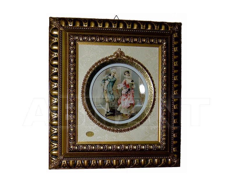 Купить Декоративное панно Italia Cornici di Caccaviello Antonino Artistic Plates Bs50