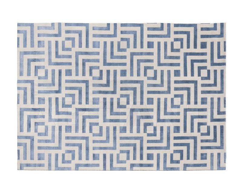 Купить Ковер современный New Rug 2018 Labyrinth Blue