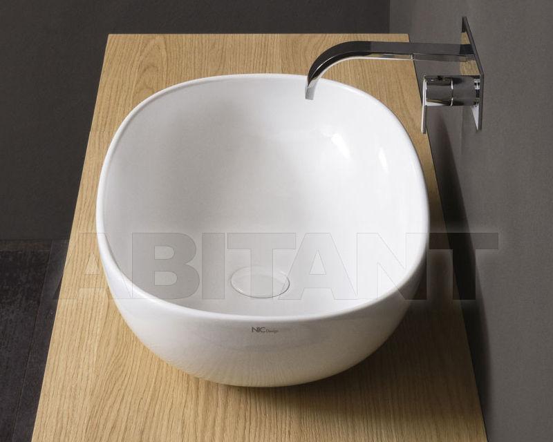 Купить Раковина накладная Nic Design Milk 001 285