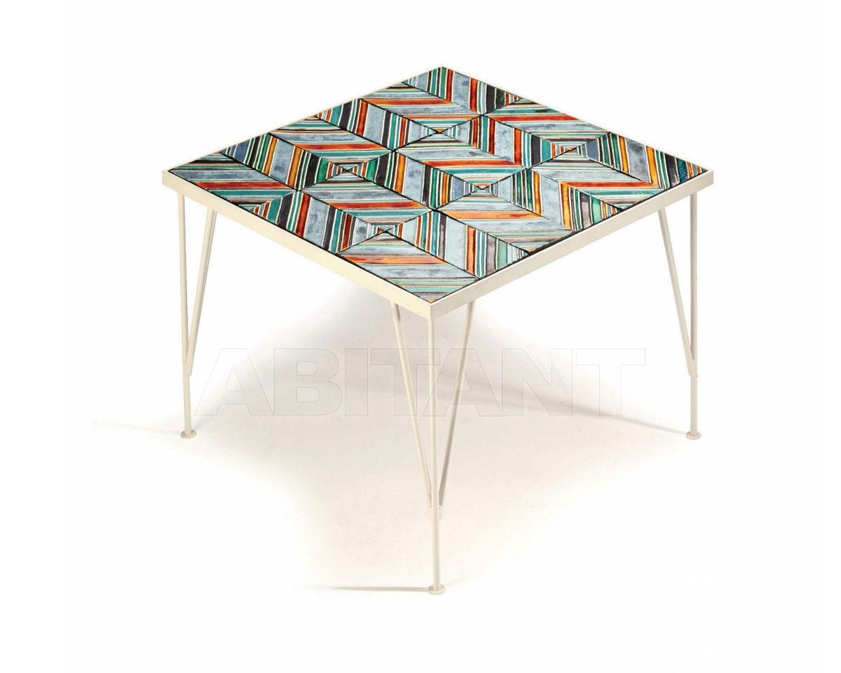 Купить Столик кофейный Mambo Unlimited Ideas  2018 CALDAS Stripes Ocean top