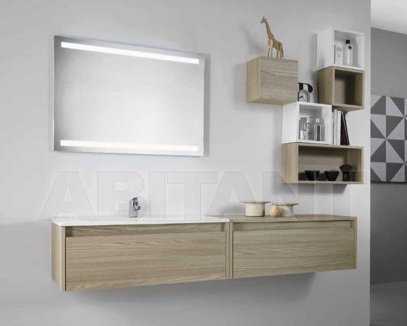 Купить Композиция Ciciriello Lampadari s.r.l. Bathrooms Collection EDGE 80 Olmo grigio