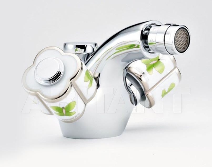 Купить Смеситель для биде THG Bathroom A7E.3202 Capucine vert décor Platine
