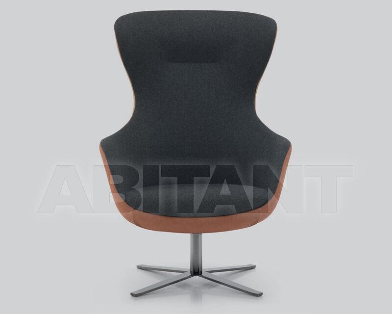 Купить Кресло для кабинета Ivano Antonello Italia 2016 MADAME Lounge Base girevole R13