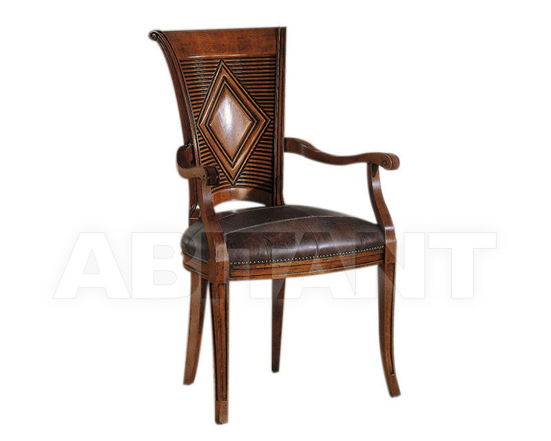 Купить Стул с подлокотниками BS Chairs S.r.l. Raffaello 3155/A