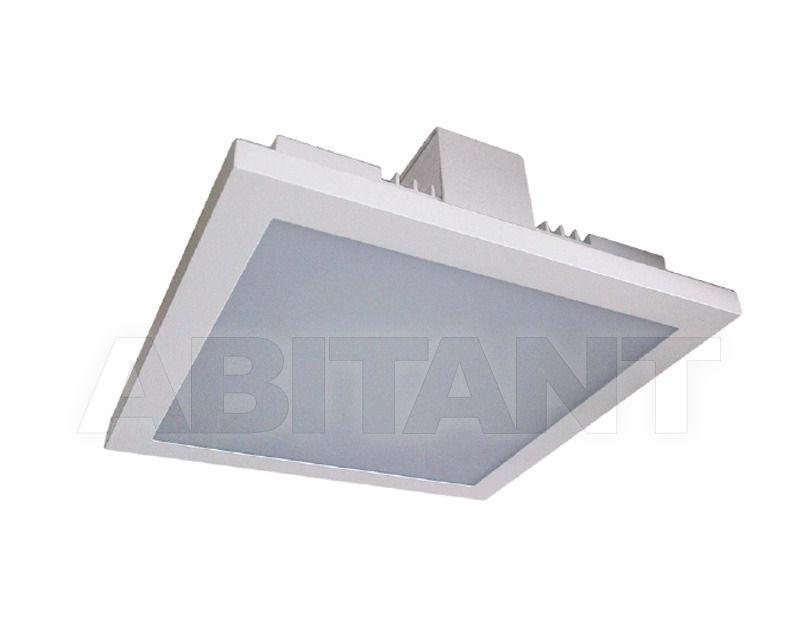 Купить Фасадный светильник QUADRA 21 RECESSED Pura Luce   Parete Soffito 70404