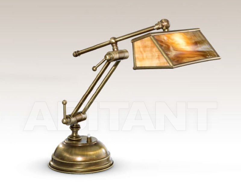 Купить Лампа настольная Cremasco Illuminazione snc Vecchioveneto 1866/1LU-BR-BE