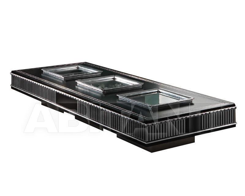Купить Столик журнальный Vismara Design Inrelax 3 WINDOWS DESIRE - COFFEE TABLE SILVER EYES