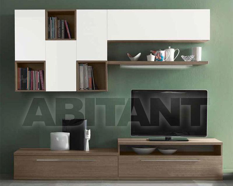 Композиция белая Imab Group S.p.A. QK0017 , каталог корпусной мебели ...