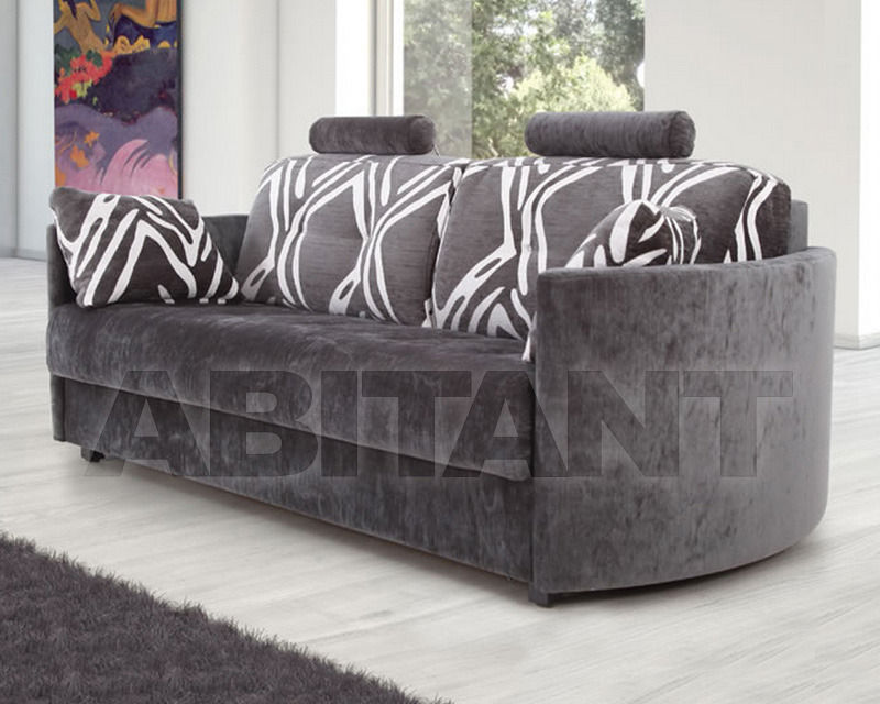 Купить Диван Fama 2014 BOLERO 3RF grey