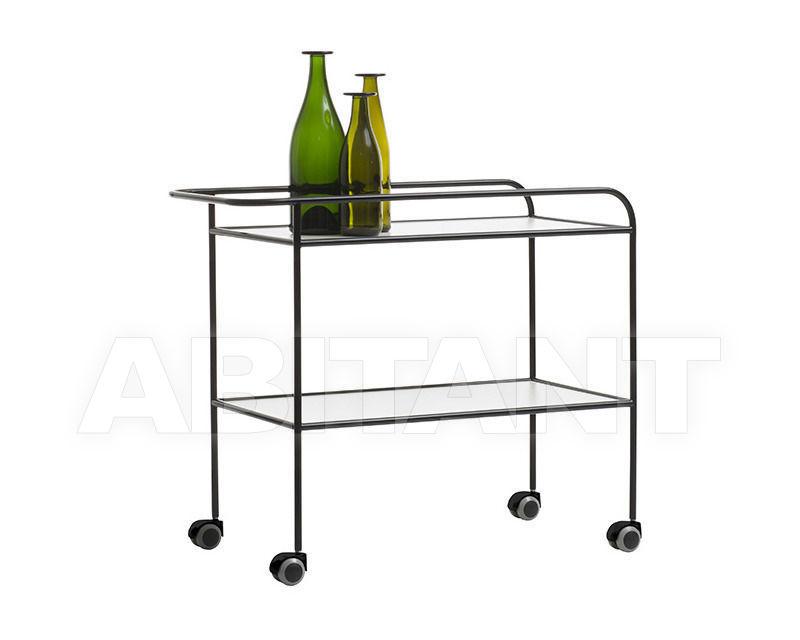 Купить Стол сервировочный Cappellini Milan 2014 Steel Pipe Drink Trolley