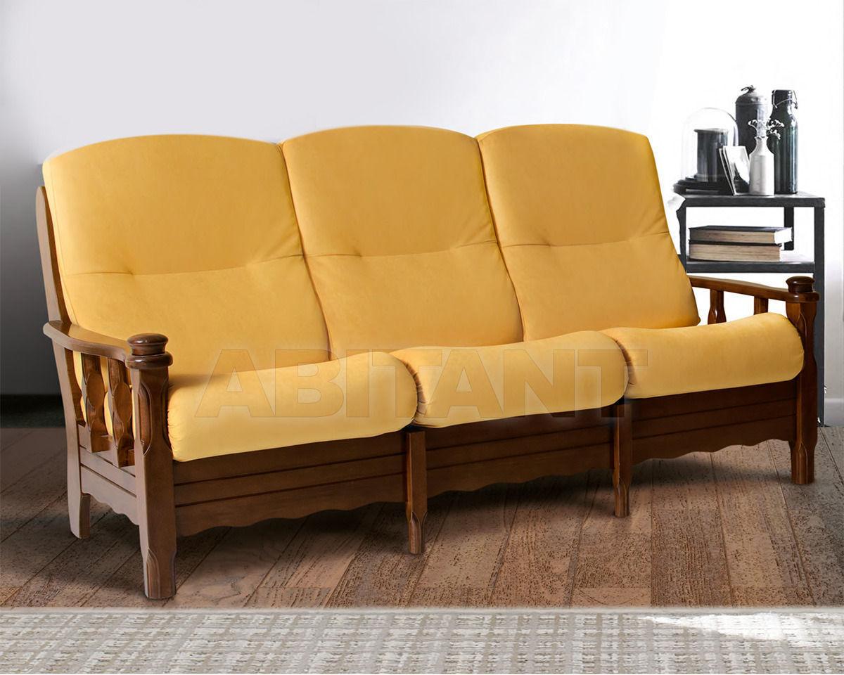 Купить Диван Trading Sofas s.r.l. by G.M. Italia Divani Rustici SCOZIA Divano 3 posti