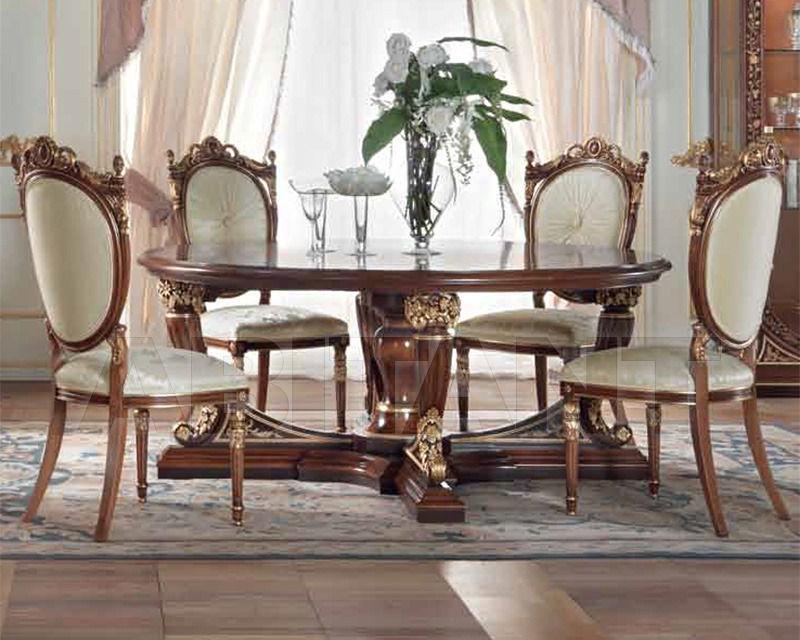 Купить Стол обеденный Galimberti Lino 2014 Gold 1762/T